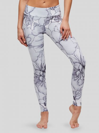 Peony Everyday Floral Leggings