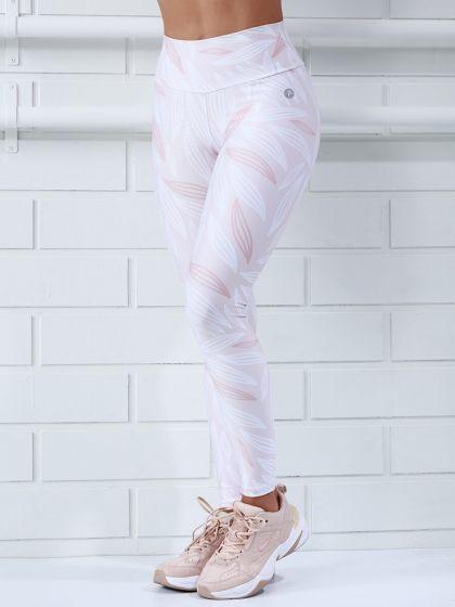 Protokolo Shayla Pink and White Leggings
