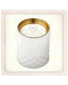 Skeem Axiom White Fleur de Sol Jar Candle