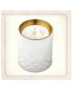 Skeem Axiom White Hydrangea Jar Candle