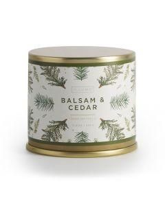 ILLUME Balsam & Cedar Large Tin Candle