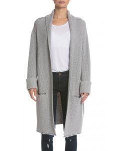Elan Heather Grey Sweater Cardigan
