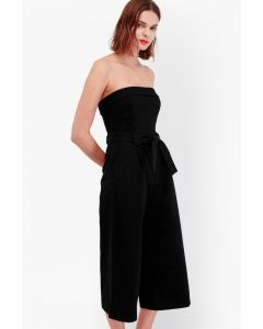 French Connection Kenyan Twill Strapless Jumpsuit