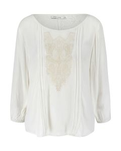 Bishop + Young Lace Insert Blouse