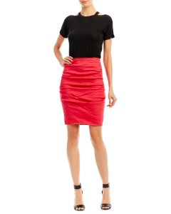 Nicole Miller Sandy Tuck Skirt