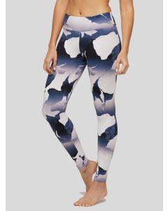 Peony Tie Dye Camo Floral Legging