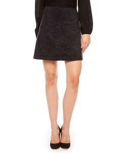 Sanctuary Easy Mod Faux Suede Black Skirt