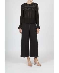 Jovonna London Lilleth Black Trousers