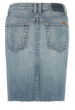 Joe's Cut-Off Slit Pencil Denim Skirt