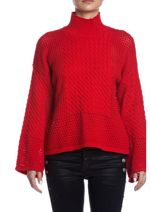 SEN Whistler Bell Sleeve Sweater