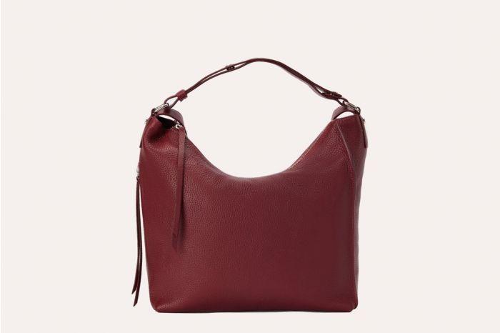 Kiko Versatile Burgundy Shoulder Bag