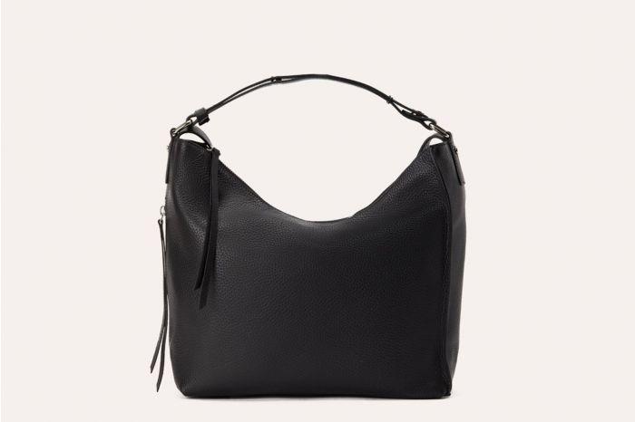 Kiko Versatile Black Shoulder Bag