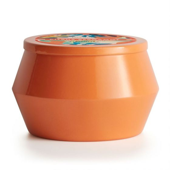 ILLUME CITRUS BERGAMOT PRISMA OUTDOOR TIN CANDLE