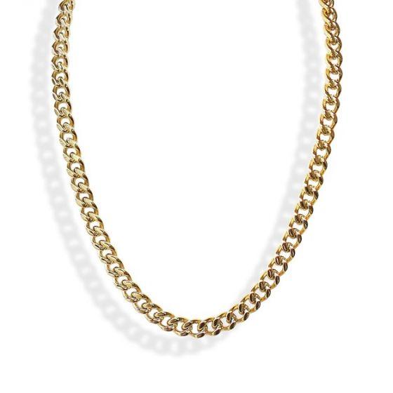 Liza Schwartz Large Curb Chain Necklace