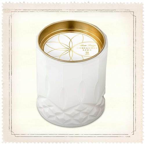 Skeem Axiom White Coriander Lime Jar Candle