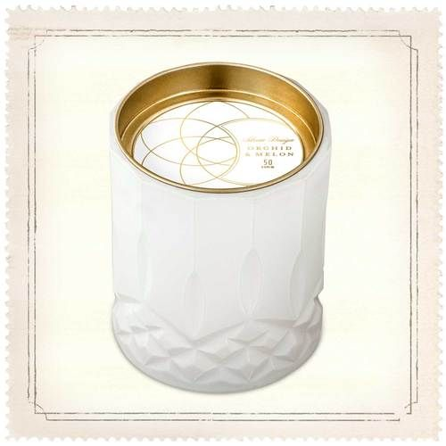Skeem Axiom White Orchid and Melon Jar Candle