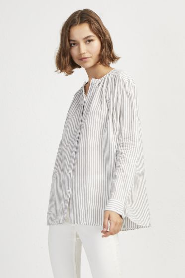 French Connection Clarisse Lawn Stripe Shirt