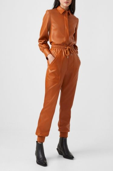 French Connection Crolenda PU Jogger