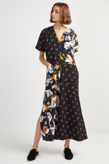 French Connection Aventine Drape Jumpsuit