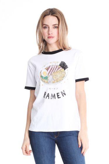 """Comune """"Ramen"""" Noodle T-Shirt"""