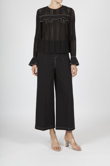 Jovonna London Lilleth Black Trousers