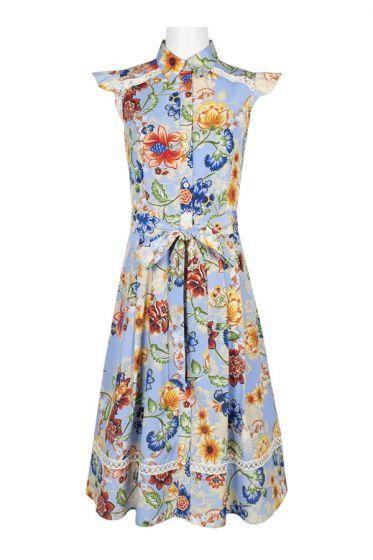 Tahari ASL Floral Dress