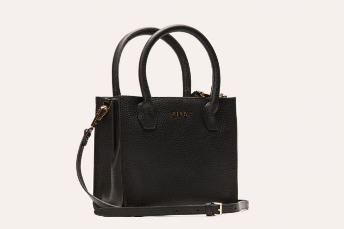 Kiko Simplistic Crossbody Black Bag